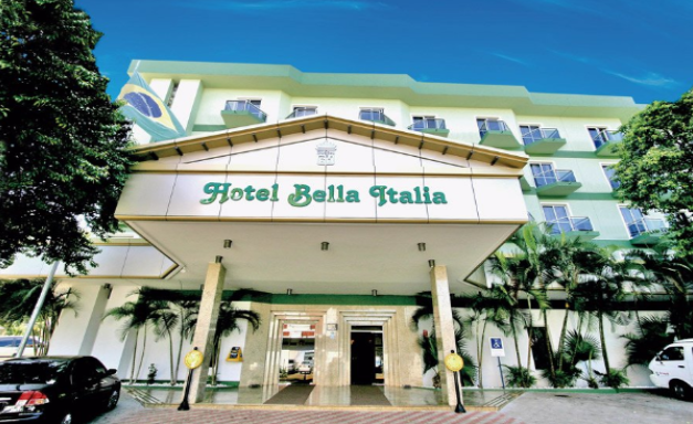 Recepção do Hotel Bella Italia